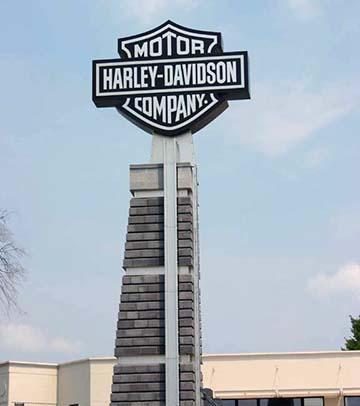 Harley sign