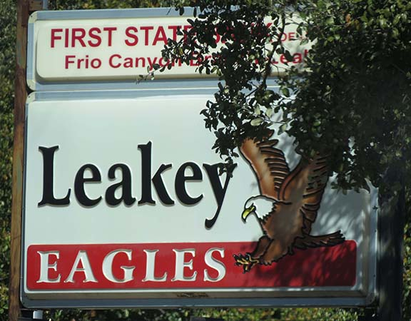 Leakey Eagles