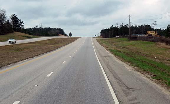 US 43 four lane small
