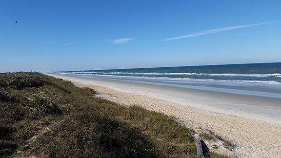 Beach view north small