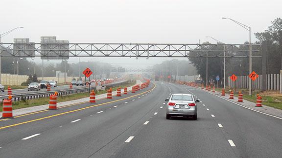 Road construction small