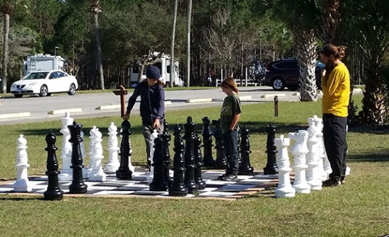 Chess game small