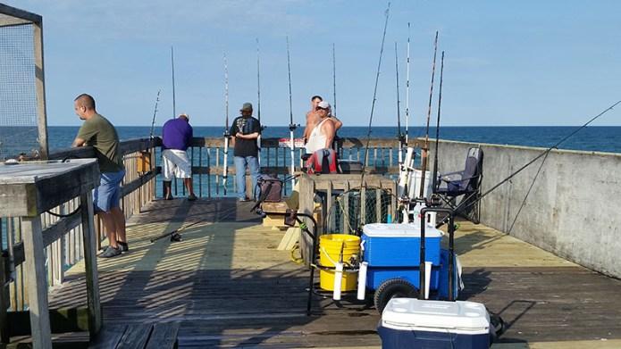Guys on pier small
