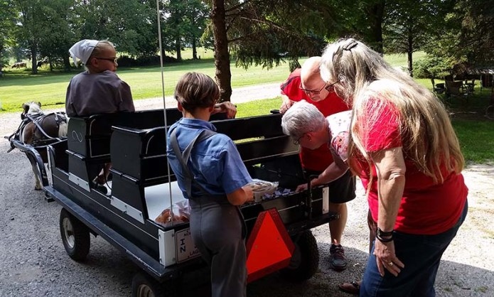 Amish kids vendors