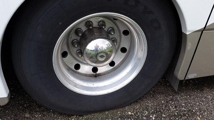 Old hubcap
