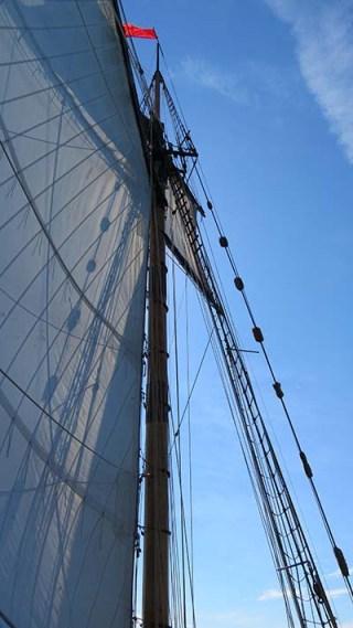 Up at mast 2