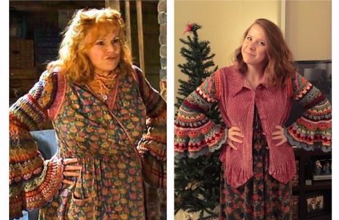 Mrs Weasley Side by Side