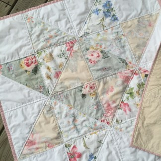 Green Queen Breathing New Life Into Repurposed Materials - Gypsy Moon Quilt Co. Sawtooth Star