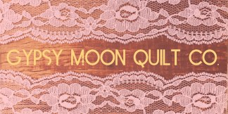 Upcycling From Lace to Header Image - Gypsy Moon Quilt Co.