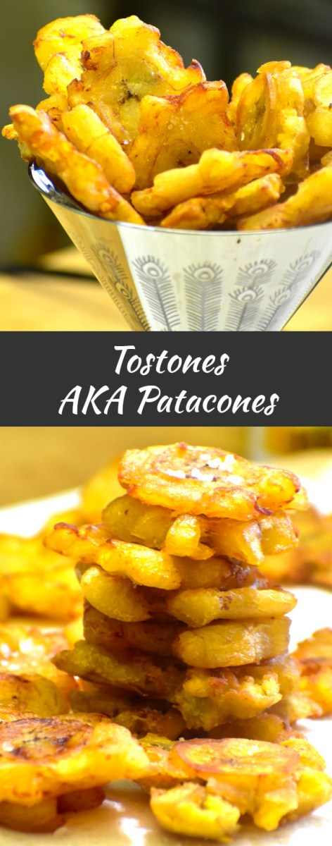 long pin of tostones