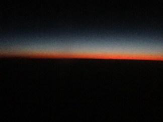 The longest sunset....
