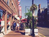 Harvard Square in the 4th of July, 2016