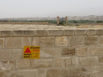 Land Mines near the Jordan River