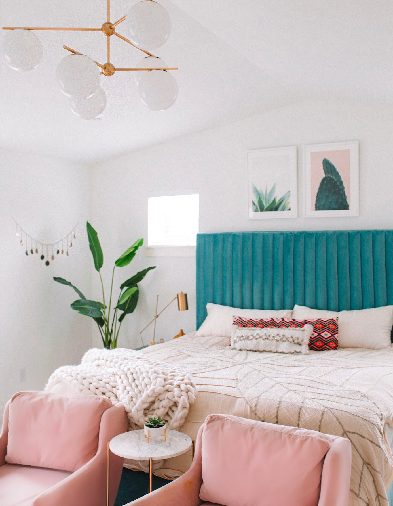 Modern Bohemian Bedroom Update | Gypsy Tan on Boho Bedroom  id=38095
