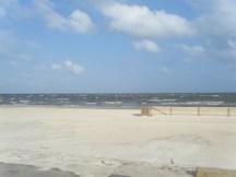 Beautiful White Sand. Gale Force Winds. Bittersweet Moment!
