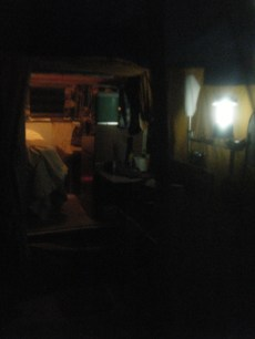 Our Humble Abode just Before Bedtime