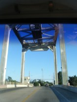 Crossin' Old Draw Bridge in Coastal Alabama