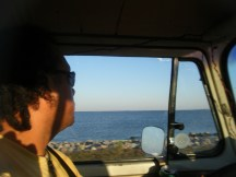 Cap'n Nic at the Helm