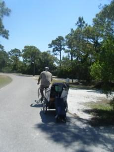 Bike Trailer...Fully Loaded