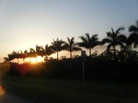 Sunset Near Miami