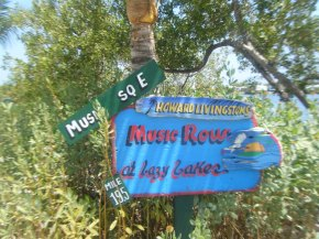 Music Row Sign at LL
