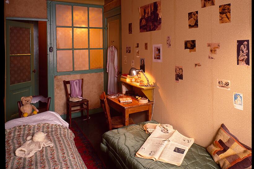 Visiting Anne Frank House, Amsterdam.