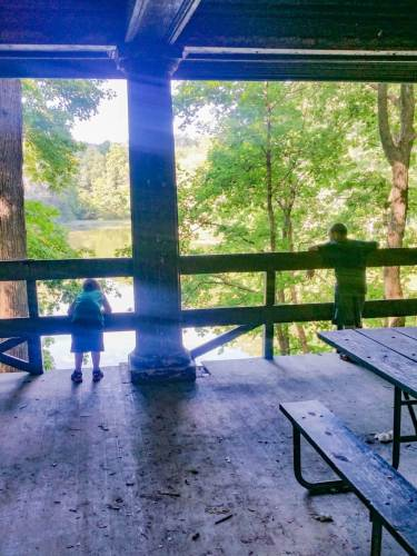 Matthiessen State Park Picnic Shelter