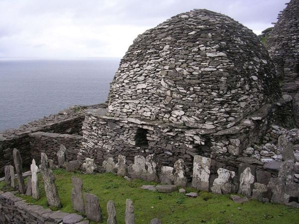 Cemetery and Oratory on Skellig Michael.
