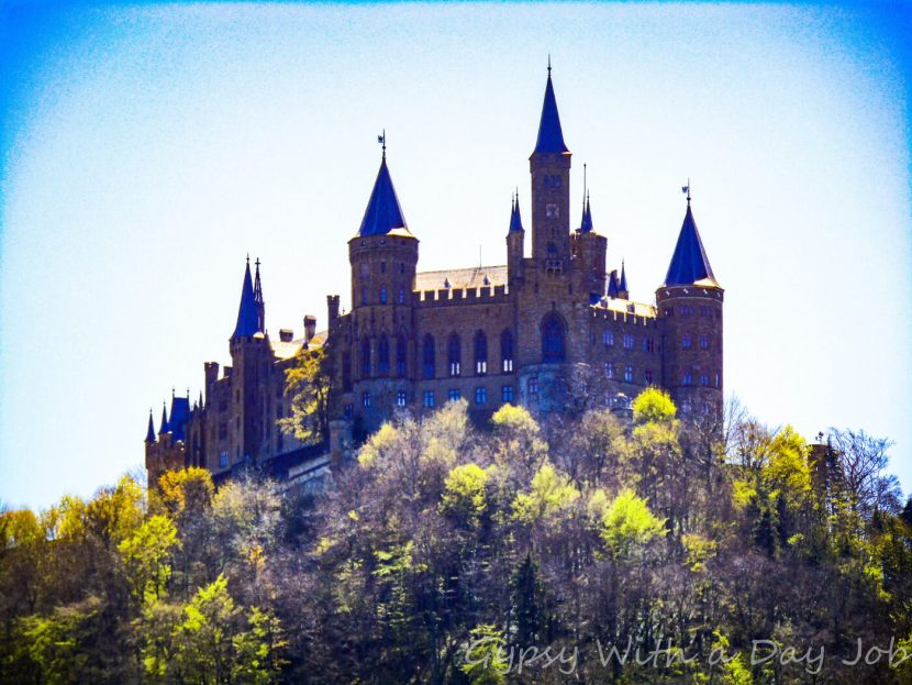 Burg Hohenzollern, in Baden-Wurtemburg, Germany, former seat of the Prussian Kings and Kaisers.