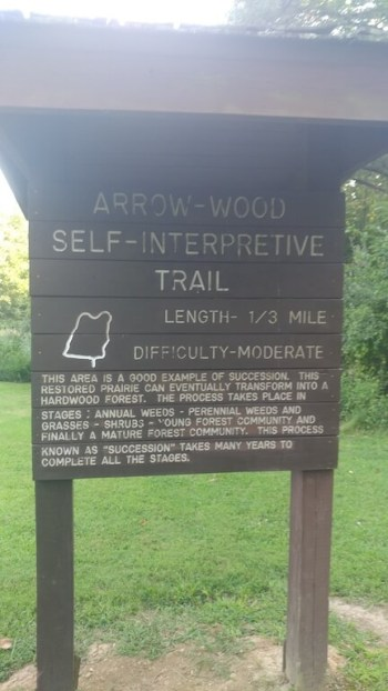 Giant City State Park interpretive trails, a great place for an educational adventure, with hiking and exploring.