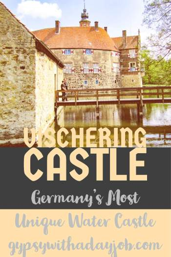 Vischering Castle, Lundinghausen, Germany, medieval Wasser Schloss.
