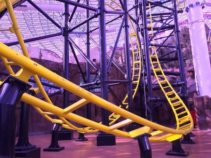 Las Vegas 101 things to Do, See from the Sky, the Adventuredome.