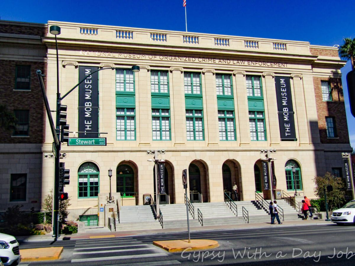 Get Booked - Visit the Mob Museum!