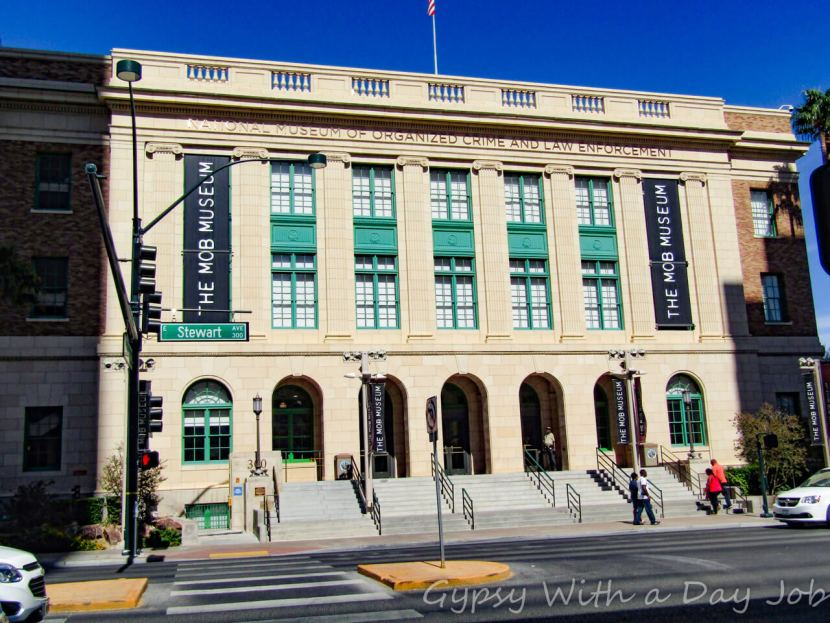Las Vegas 101 things to Do, See from the Sky, the Mob Museum.