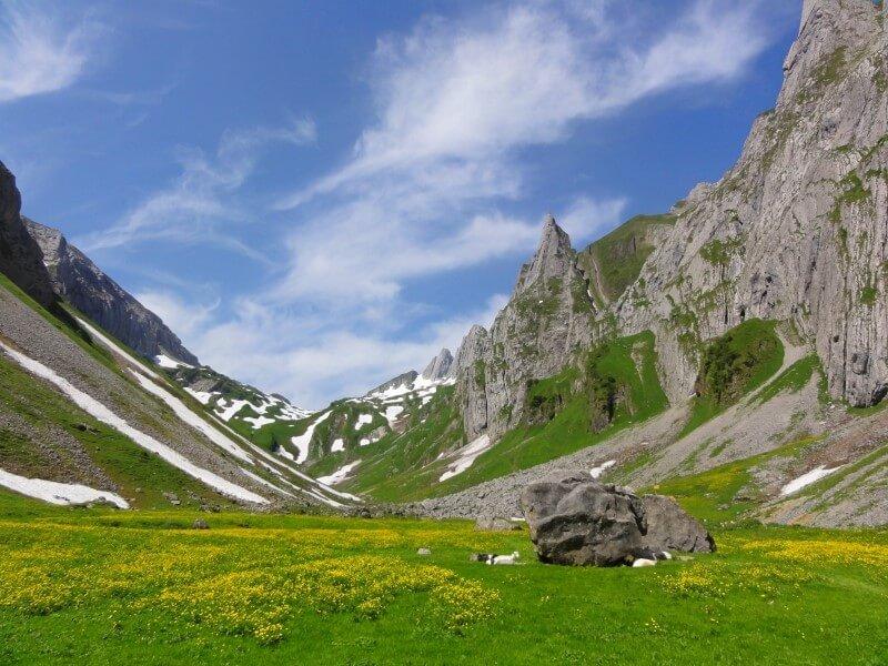 Travel and Thankfulness, Lost in Switzerland.
