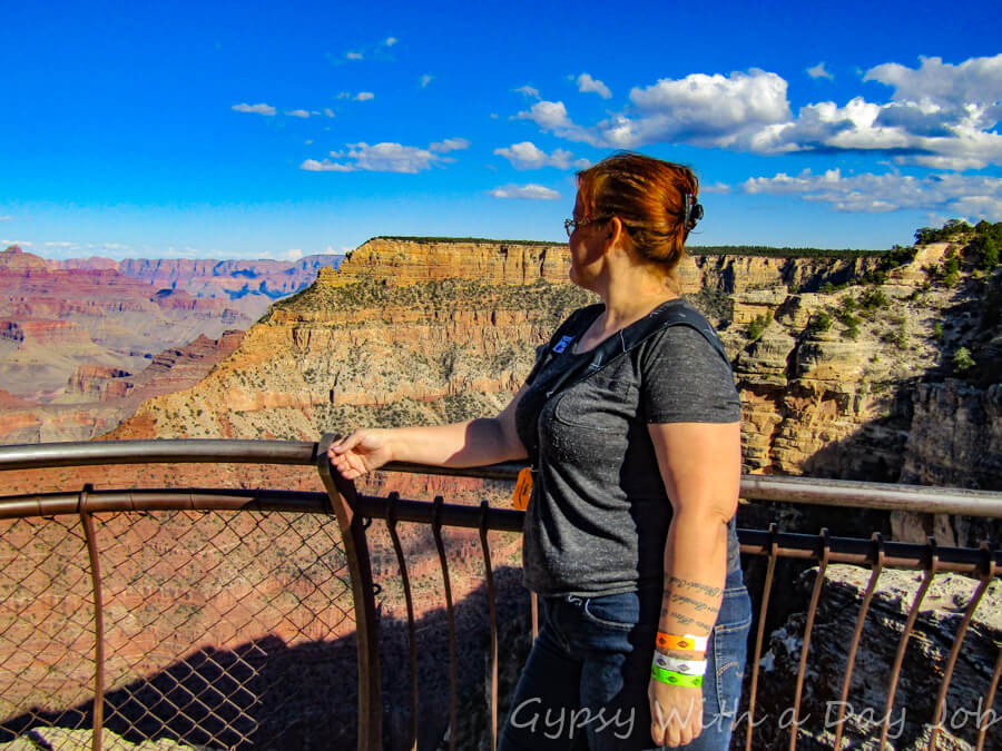 Grand Canyon Day Trip, Mather Point.
