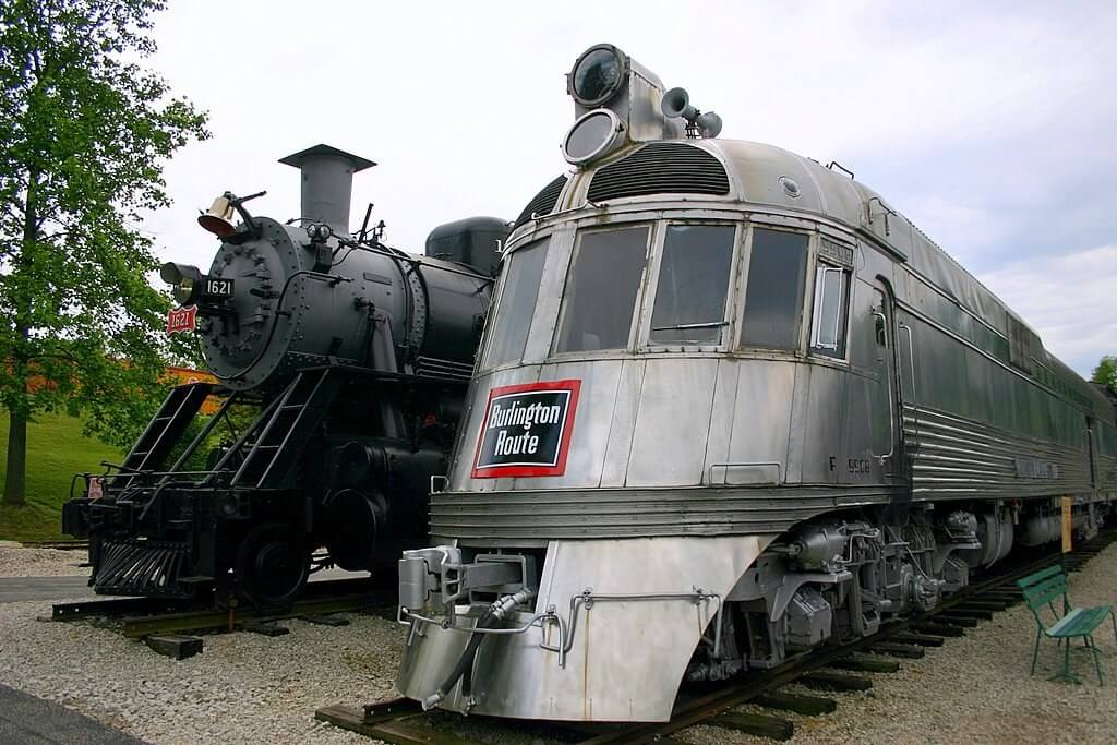 St. Louis Getaway Attractions, the National Transportation Museum, the Frisco and the Zephyr.