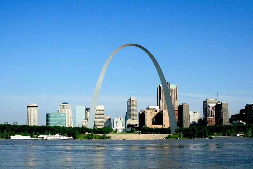St. Louis Getaway Attractions, the Gateway Arch.
