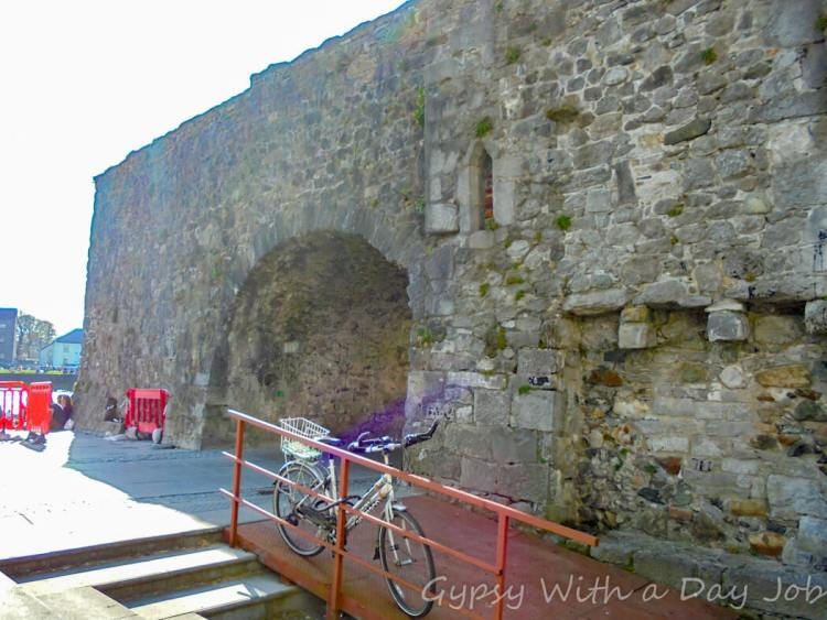 Galway Spanish Arch, one of our Ireland Highlights on the Ireland route that could be a perfect Ireland Itinerary.
