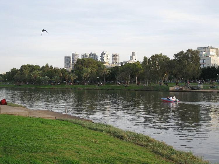Yarkon River Park ริมฝั่งแม่น้ำ Grassy สิ่งที่ต้องทำในเทลอาวีฟ