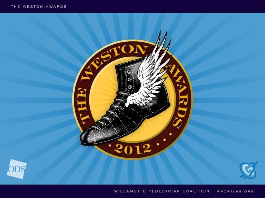Oregon Walks Weston Awards presentation (Matt Giraud, Creative Director, Gyroscope Creative