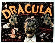 Dracula instrueret af Tod Browning, 1931