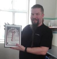 Sidste års vinder Michael Kamp