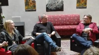 Paneldiskussion mellem Martin Schjönning, Patrick Leis og A. Silvestri