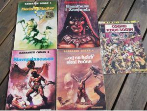 Barbaren Conan 1-4