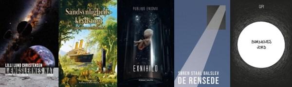 Årets danske science fiction udgivelser 2019