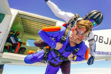 A leap of faith - skydiving