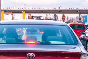Lewiston border crossing