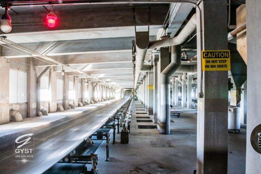 Grain conveyors