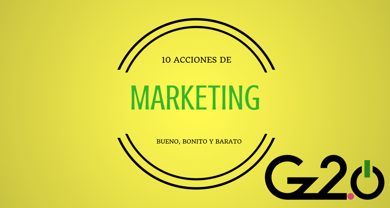 marketing bueno, bonito y barato